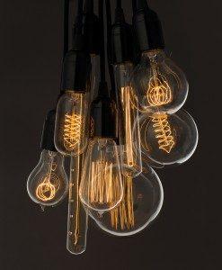 edison dekoračné žiarovky