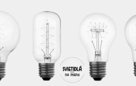 nostalgické historické žiarovky