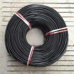 Kábel dvojžilový z PVC v čiernej farbe, 2 x 0.75mm, 1 meter (2)